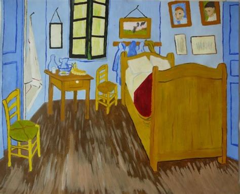 reproduction de la chambre 224 coucher de gogh