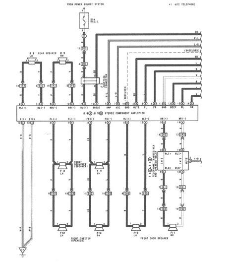 Need Audio Wiring Diagram For Club Lexus Forums
