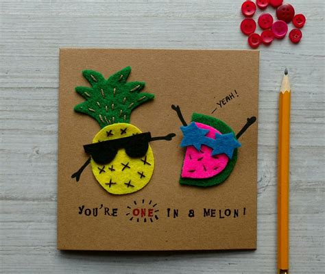 Count yourself lucky, if it was recent. Handmade cute pun card! Perfect for a birthday or anniversary, it's funny and cool. Made on ...