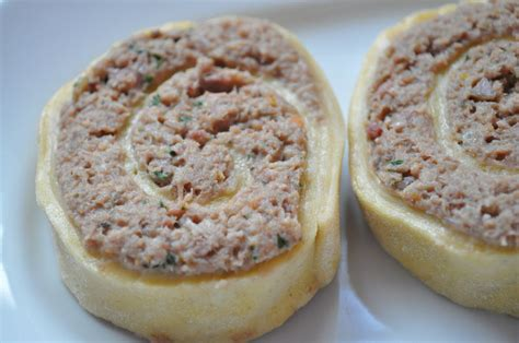 bouillon blanc en cuisine fleischschnacka escargots de viande cuisine avec