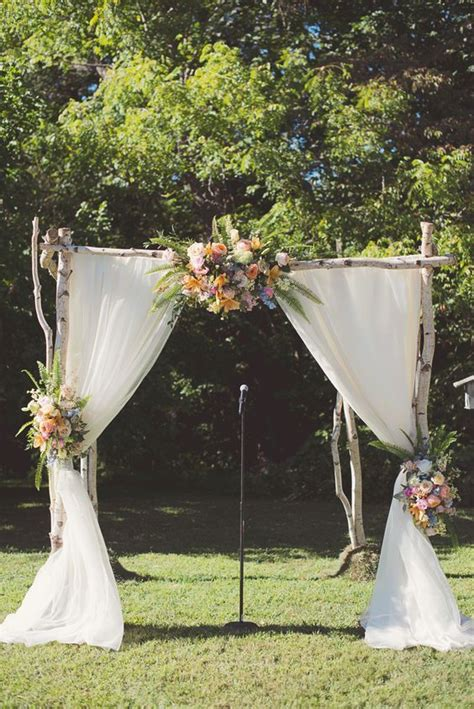 country wedding arches ideas  pinterest
