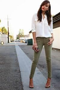 Best 25+ Khaki jeans ideas on Pinterest | Green jeans ...