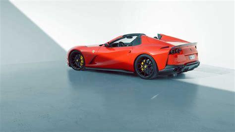 New from novitec for the ferrari 812 gts: Ferrari 812 GTS: ecco la versione di Novitec - AlfaVirtualClub