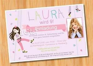Kindergeburtstag 4 Jahre Mädchen : einladungskarten foto einladungskarten kindergeburtstag kletterpark ein designerst ck von ~ Frokenaadalensverden.com Haus und Dekorationen