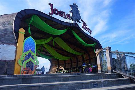 jogja bay waterpark terbesar  indonesia cocok