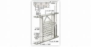 Pool Cue Rack Plans • WoodArchivist