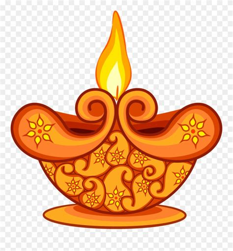 library  diwali lamp clipart freeuse stock png files