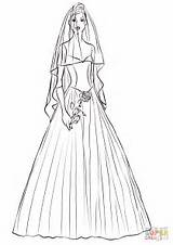 Coloring Bride Rose Pages Printable Drawing Paper Categories sketch template