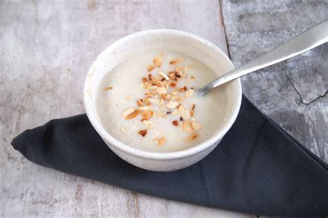 soupe de pates au lait soupe de chou fleur au lait d amande cauliflower soup