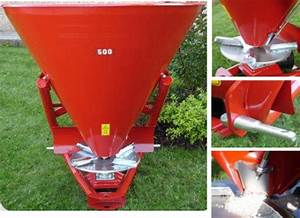 3-point Fertilizer Spreaders And Concrete Mixers