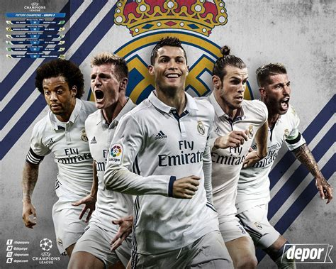Real Madrid 2017 Wallpapers - Wallpaper Cave