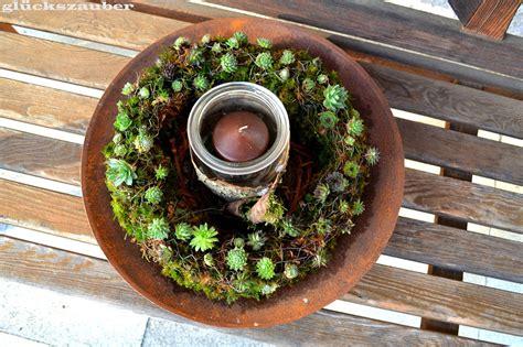 Holz Biegsam Machen by Gl 252 Ckszauber Gartendekoration Mit Sukkulenten