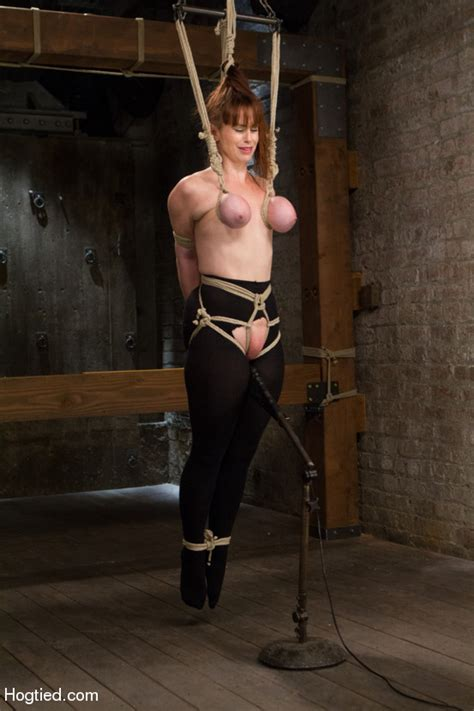 big boobs damsel roped with tits tied and b xxx dessert picture 2