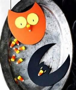 DIY Candy Corn Halloween Crafts
