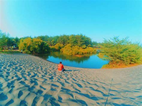 harga tiket  lokasi pantai laguna lembupurwo kebumen jateng