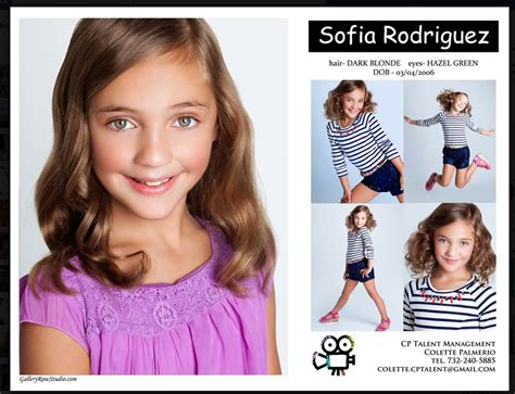 kid comp cards  modeling photo inspirations
