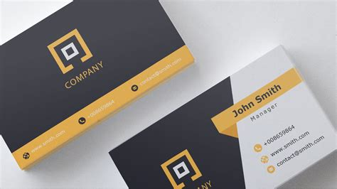 business card template    youtube