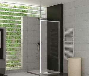 Duschtrennwand Badewanne Glas : duschtrennwand glas feststehend 90 x 190 cm kunststoff ~ Michelbontemps.com Haus und Dekorationen
