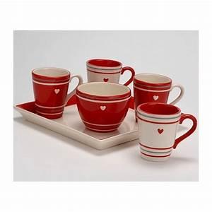 Service Tasse à Café : service tasses caf amadeus coeur de d co ~ Teatrodelosmanantiales.com Idées de Décoration