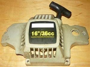 Craftsman 16 U0026quot   36cc Chainsaw Complete Starter Recoil Cover