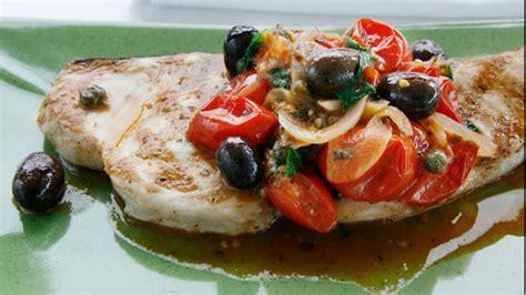 swordfish steak  tomato  herbs recipe sbs food