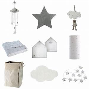 Chambre Bebe Etoile : inspiration d co 1 nuages et toiles pour la chambre de ~ Teatrodelosmanantiales.com Idées de Décoration