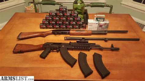 Nice Ak, Ammo, & Shotgun