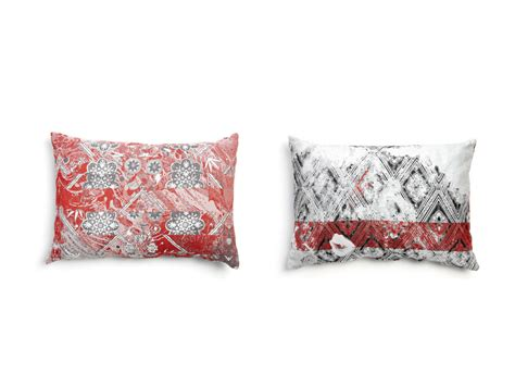 coussin design pour canape coussin rectangulaire en tissu pour canapé 2 by moooi
