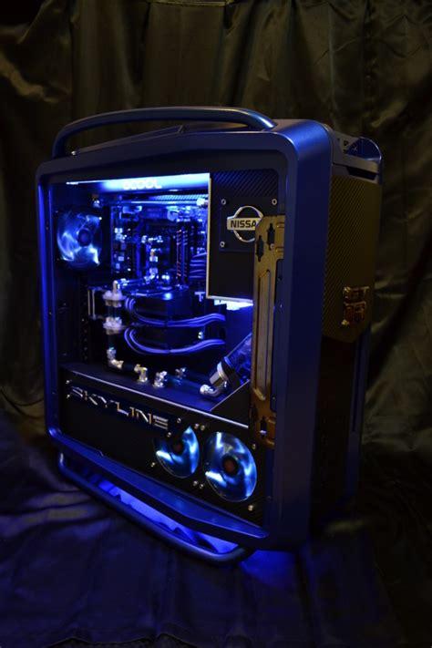 nissan gt  computer tower   ultimate gadget