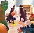 Dinovember's toy dinosaurs 'come to life' when creative ...