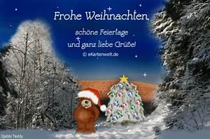 Schöne Weihnachten Grüße : frohe weihnachten sch ne feiertage und ganz liebe gr e ~ Haus.voiturepedia.club Haus und Dekorationen