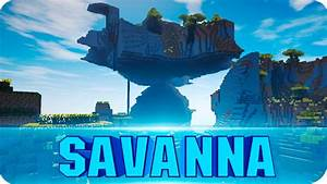 Minecraft Seeds Giant Flying Savanna Plateau EPIC