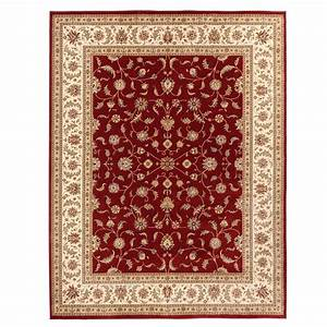Home Decorators Collection Maggie Red 3 ft. 11 in. x 6 ft ...