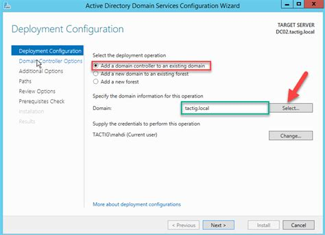 Add Additional Domain Controller To Existing Domain Step