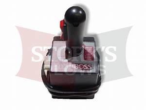 Msc03809 Boss Joystick Control Power Blade Vee V Plow