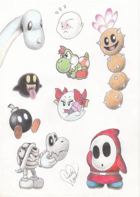Cute Mario Characters By Marindashy On Deviantart