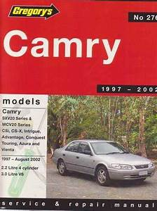 Toyota Camry Sxv20 And Mcv20 Series 1997