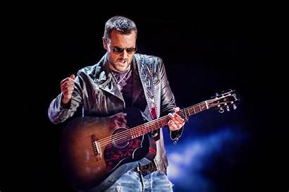 Singer Eric Church Country Run Anthony Night