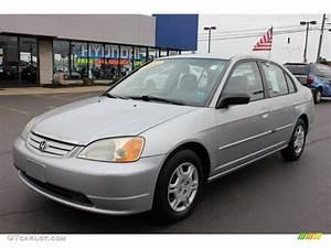 Honda Civic 2002 : 2002 satin silver metallic honda civic lx sedan 64821748 car color galleries ~ Dallasstarsshop.com Idées de Décoration