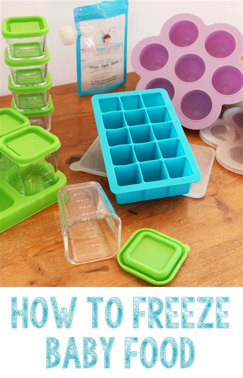 How To Freeze Baby Food Buona Pappa