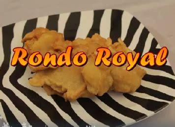 resep   memasak kuliner jawa rondo royal enak