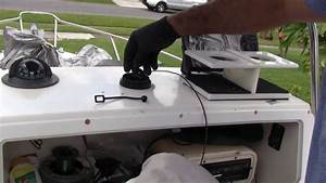 Installing A Garmin Striker 7 Dv Fish Finder  Instalando Un