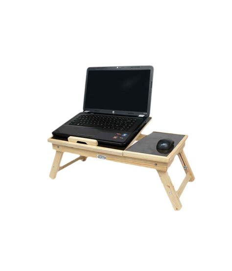 best buy laptop table ekta product wooden portable laptop table with adjustable