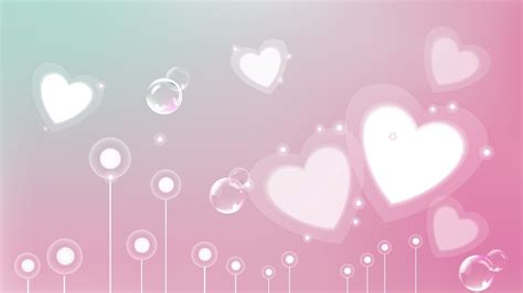 full hd wallpaper heart pink romantic abstraction desktop