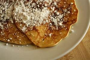 Seriously yummy lemon ricotta pancakes from Hell's Kitchen ...
