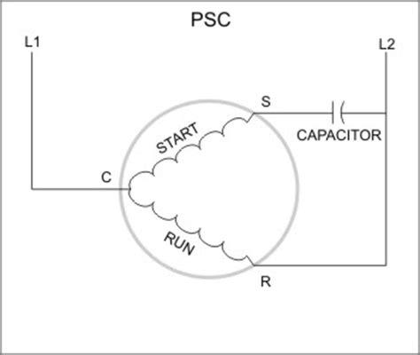 permanent split capacitor motor wiring diagram impremedia net