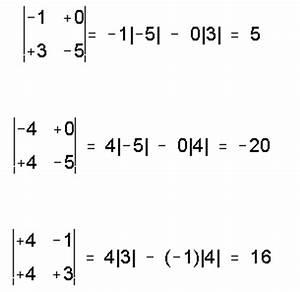 Determinante Berechnen 2x2 : determinantes matematicas modernas ~ Themetempest.com Abrechnung
