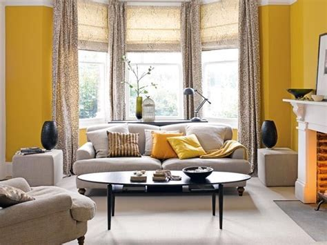 saturated yellow living room pictures   images