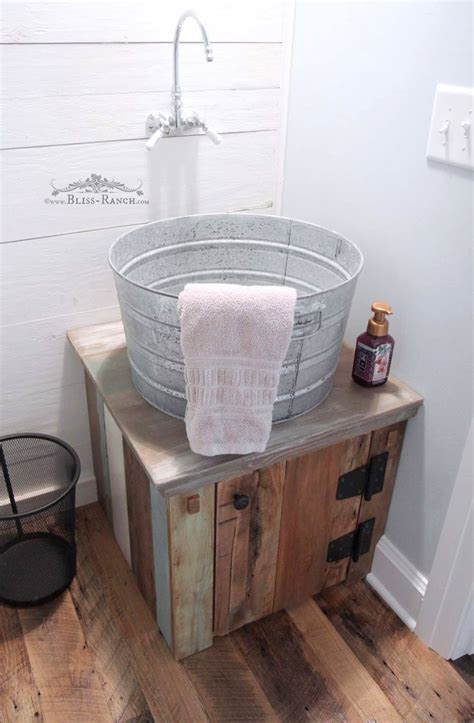 rustic  calm guest bathroom   hometalk funky