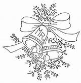 Bells Coloring Embroidery Patterns Bell Pages Hand Pattern Drawing Designs Stitch Ni Flickr Outline Mr Christmas Printable Heart Drawings Mrs sketch template